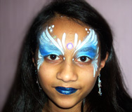 Jewel Princess Face Painting